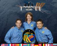International Space Station Expedition 18 Official Crew Photograph #4